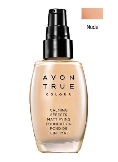 Avon Calming Effects Doğal Ve Mat Fondöten 30 Ml Nude Ten